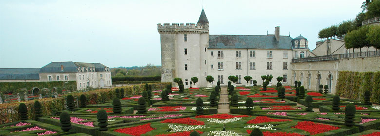 Villandry : the château and its French formal gardens